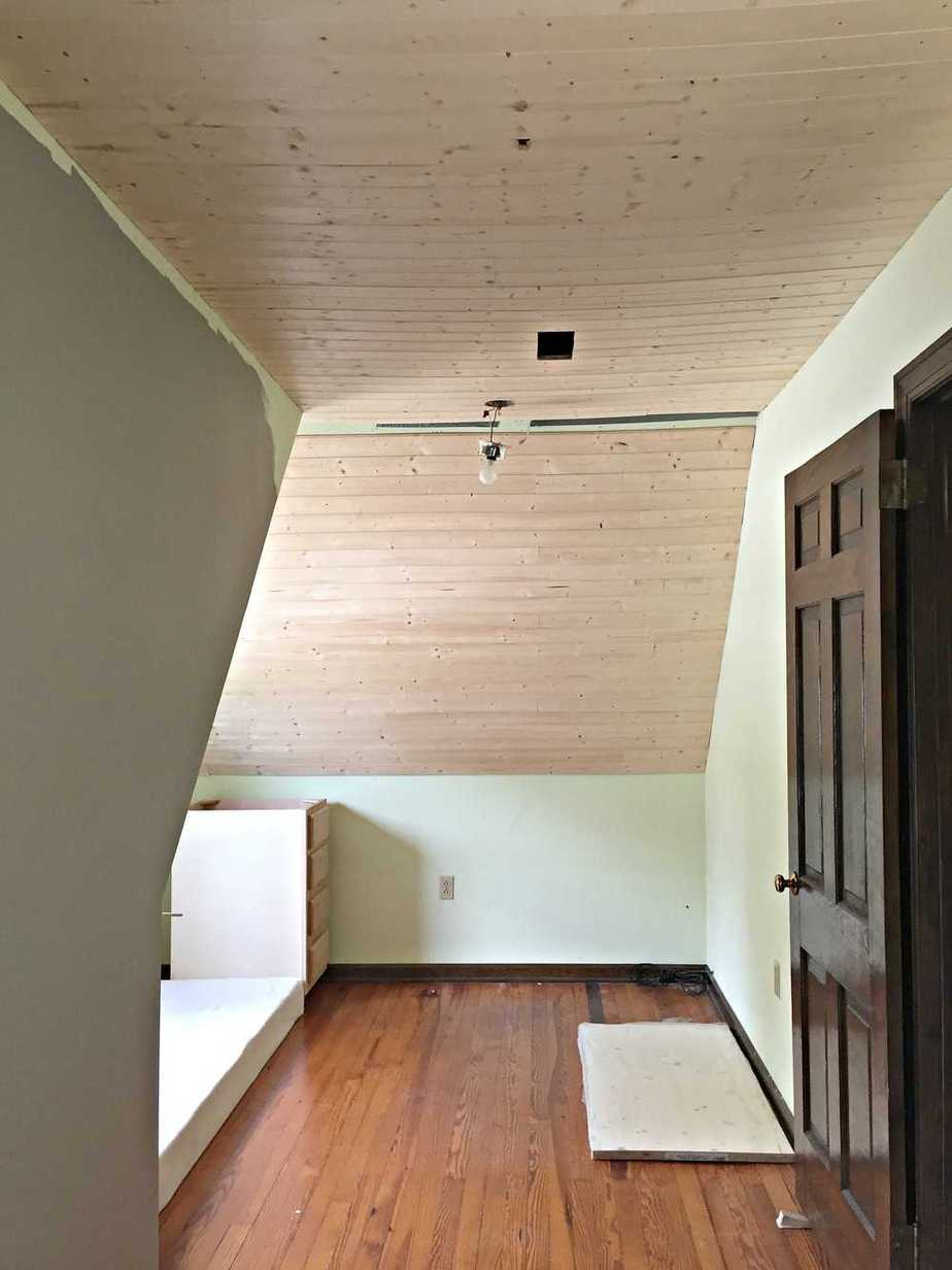 How to cover up a popcorn ceiling
