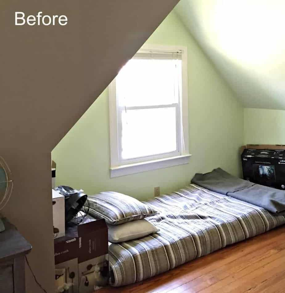 Dormer Room rustic & industrial dormer bedroom reveal