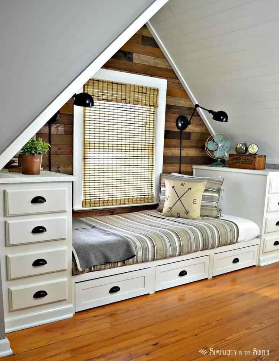 Dormer Bedroom rustic & industrial dormer bedroom reveal
