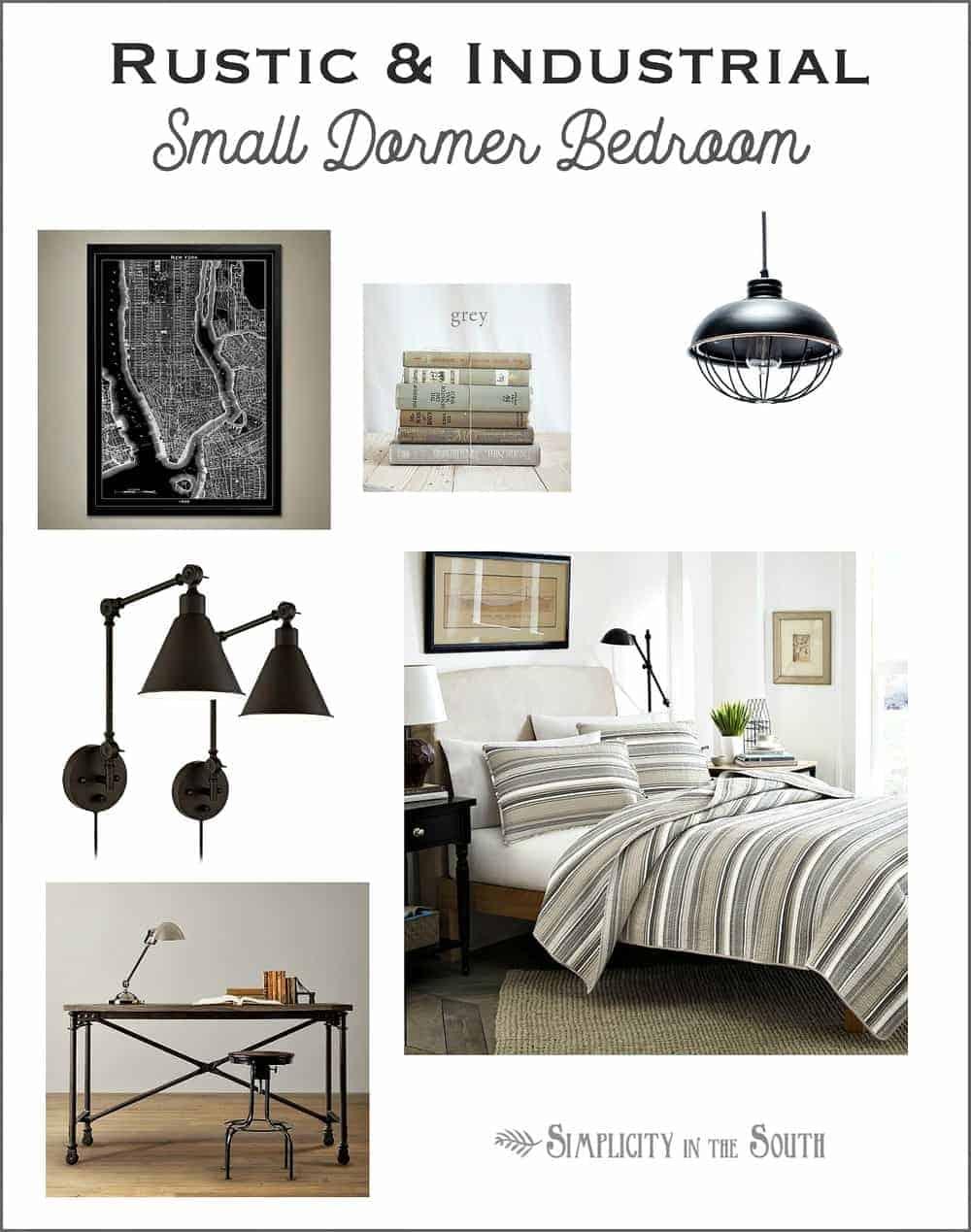 Design Plans for the Small Dormer Bedroom