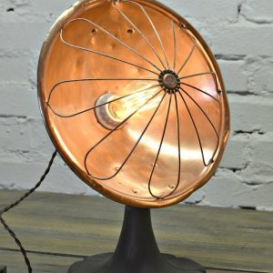 How To Make a Lamp Out of an Antique Copper Desk Heater