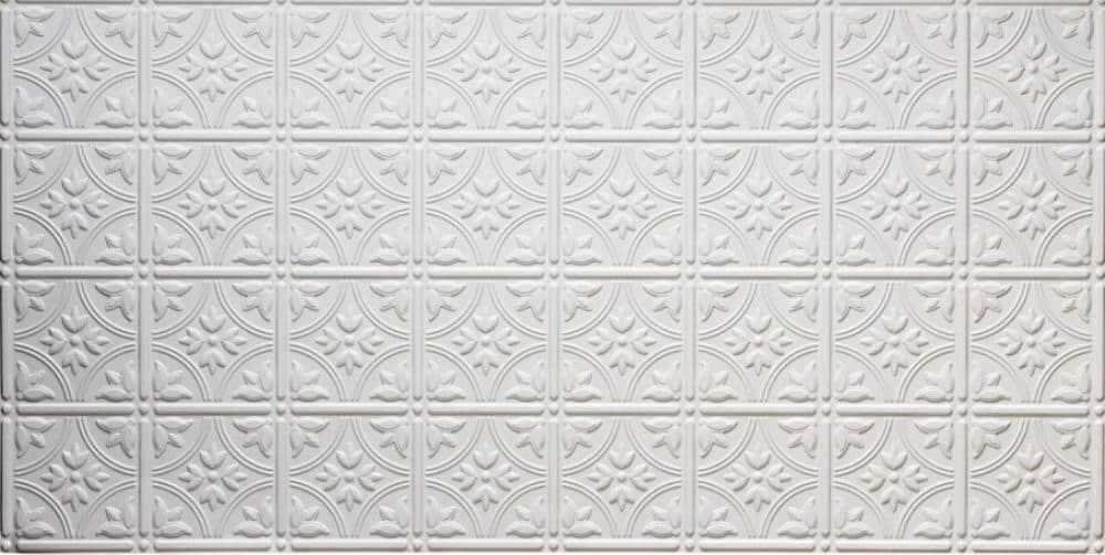 faux tin ceiling panels from Amazon
