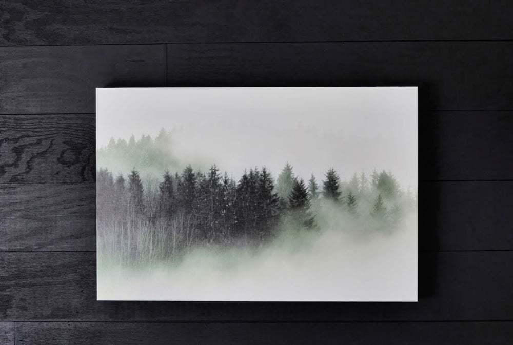 5 minute DIY custom photo canvas artwork