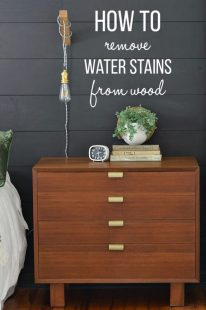 how to get water marks out of wood furniture (1)