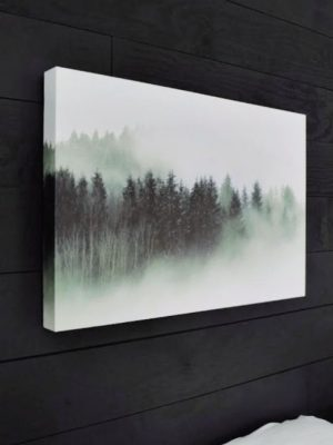 5 Minute DIY Faux Canvas Print from a Photo
