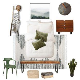 Guest Bedroom Makeover Design Plans + Mood Board