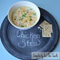 Simple Southern Chicken Stew [aka Chicken Mull]