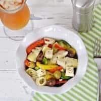Italian Summer Salad [aka Robert Wagner's Antipasto Marinated Veggie Salad]