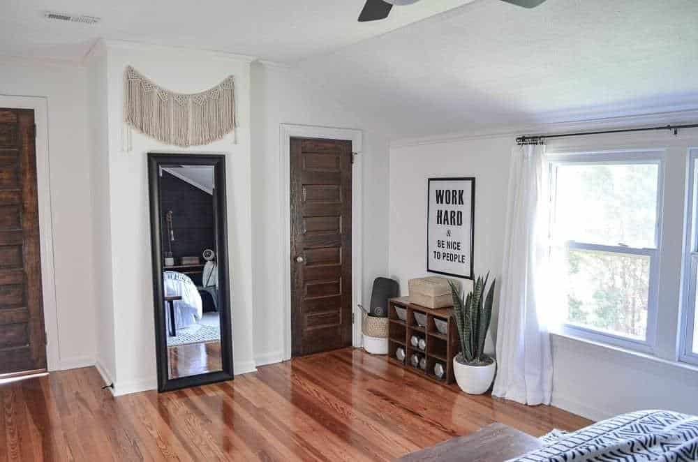before and after pictures of guest bedroom makeover