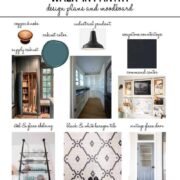One Room Challenge Week 1: Pantry Design Plans & Moodboard