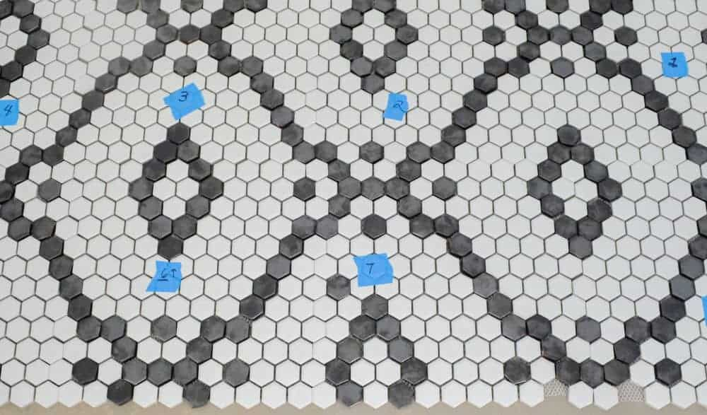 Pantry Hexagon Tile Flooring: One Room Challenge Week 2