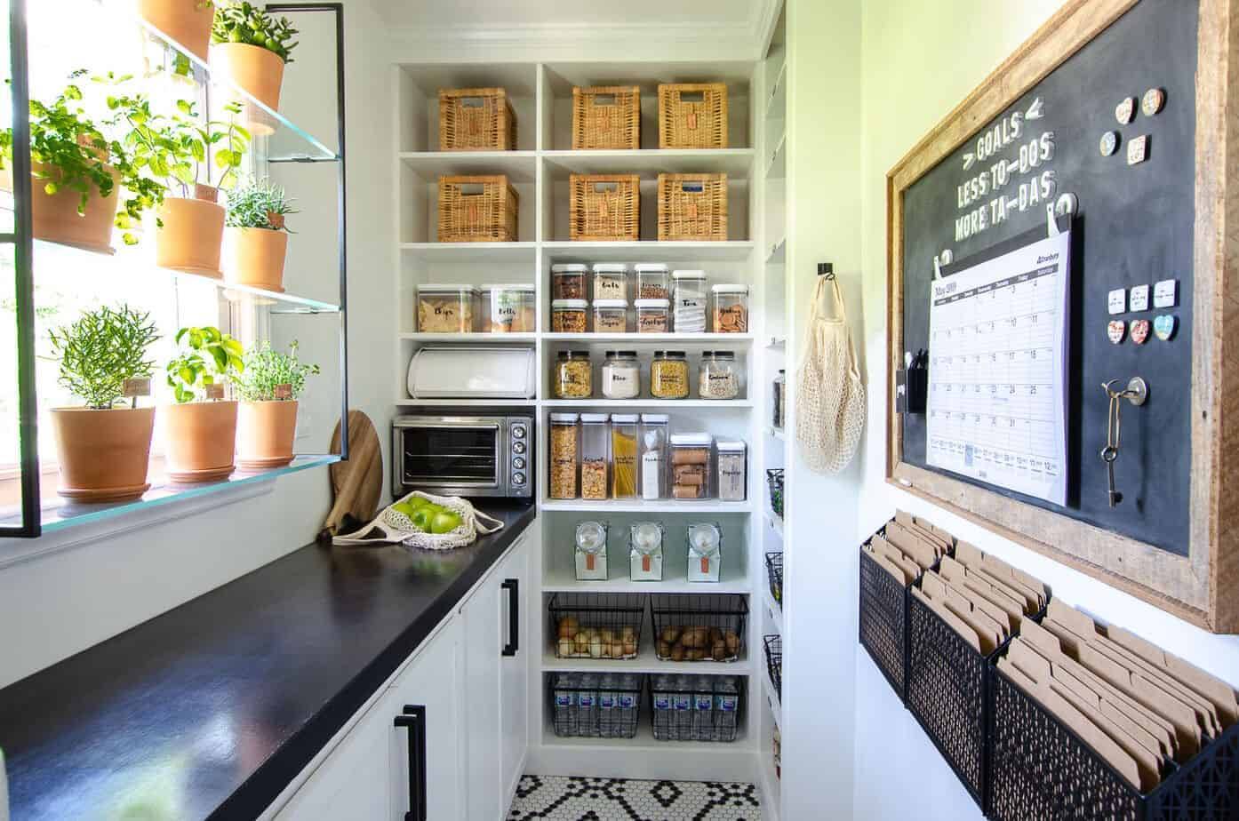 Walk-In Pantry Reveal: One Room Challenge Week 6
