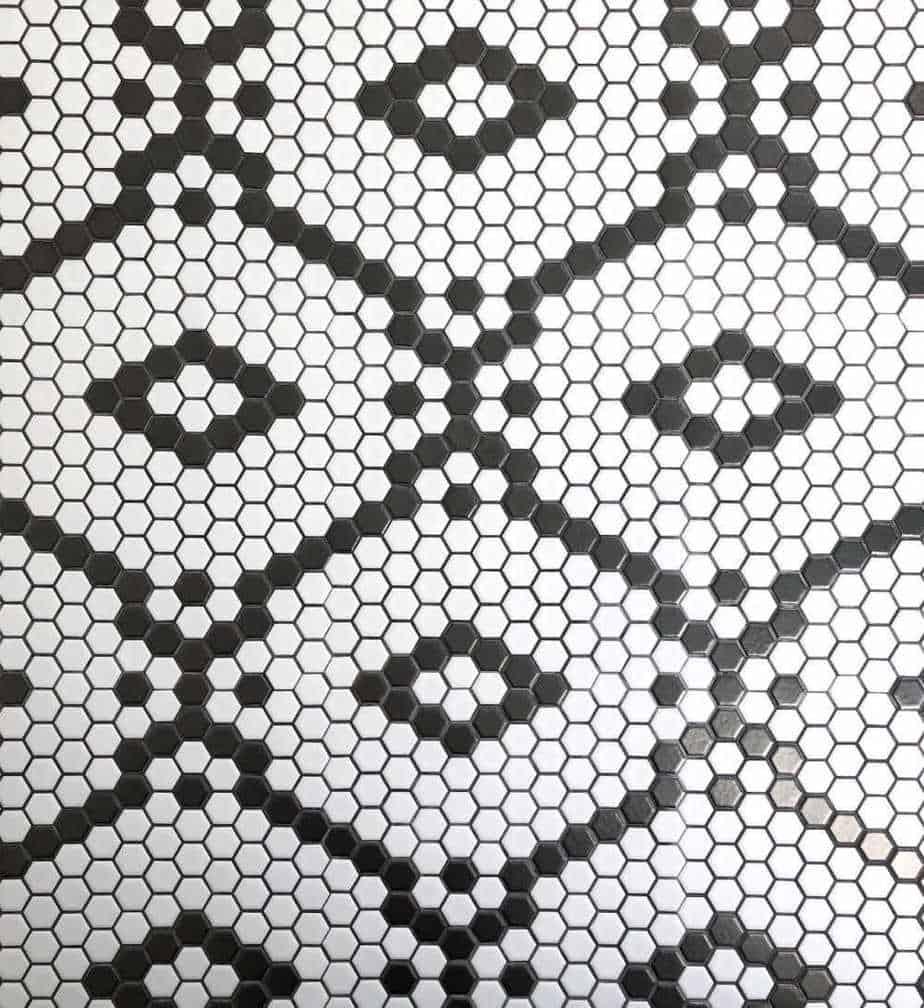 Pantry Hexagon Tile Flooring One Room