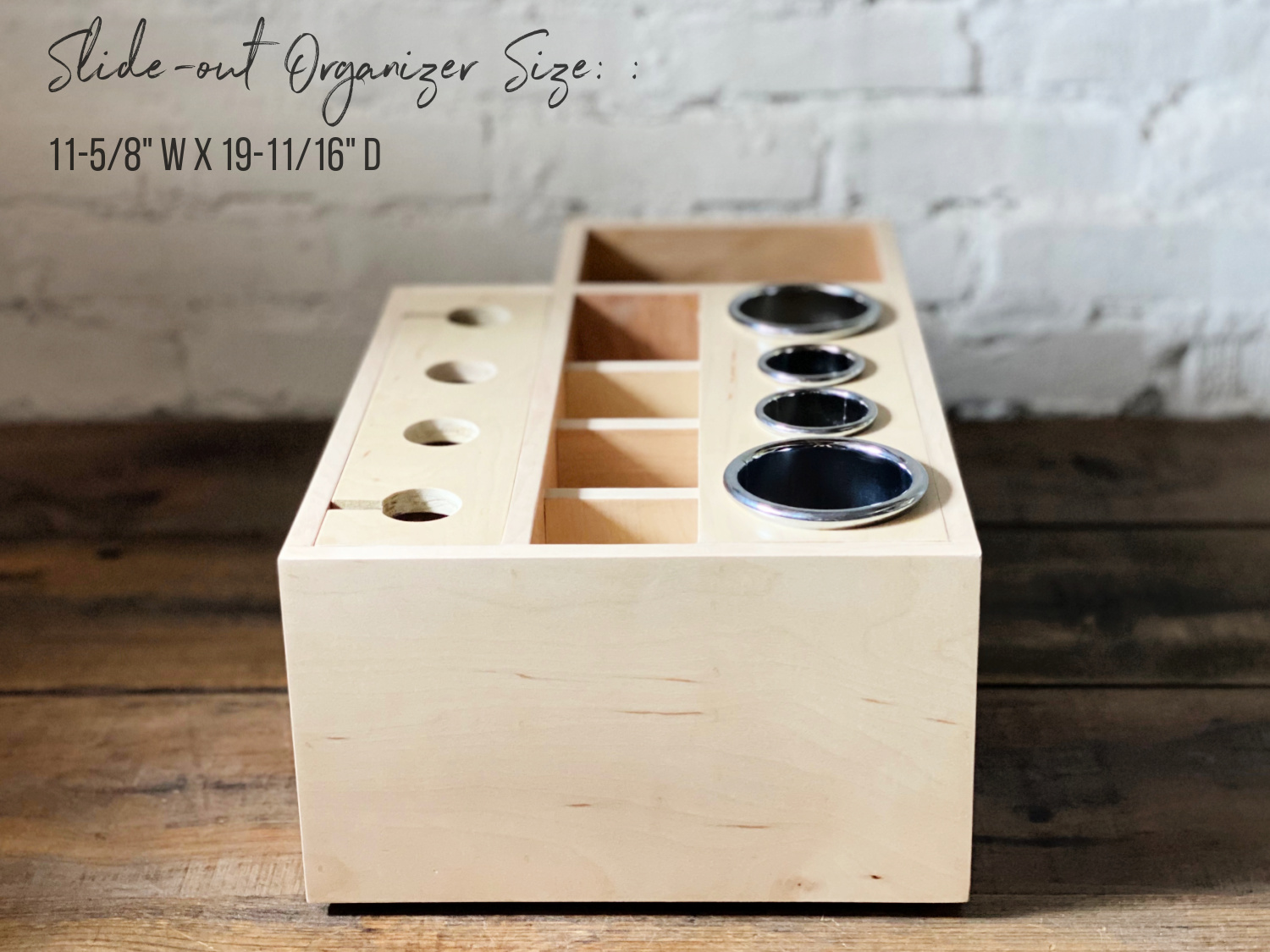 Custom Slide Out Hair Tool Organizer For Bathroom Vanity Cabinets Simplicity In The South