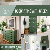 7 Simple Ways to Add a Pop of Green to Your Home